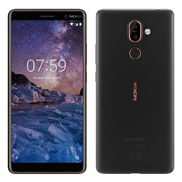 Nokia 7 Plus Dual SIM Black/Copper
